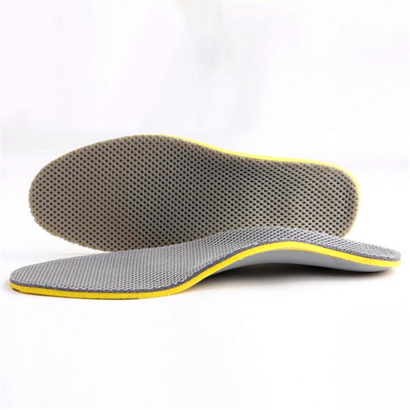 Soft Liners Comfortable Insole Orthotics Peds foot TPU fasciitis Orthopedic elastic Support foam insert Arch plantar Insole Q048
