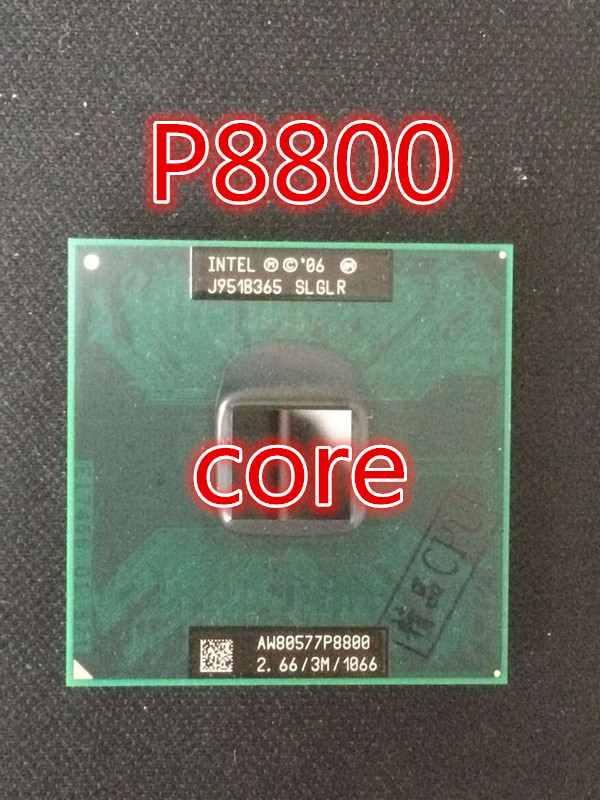 For Intel Core2 Extreme Processor P8800 (3M Cache, 2.660 GHz, 1066 MHz FSB) Socket 478 CPU P478(China (Mainland))