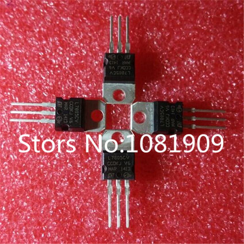 Гаджет  Free Shipping100pcs LM7805 L7805 7805 Voltage Regulator IC 5V 1.5A TO-220 None Электронные компоненты и материалы