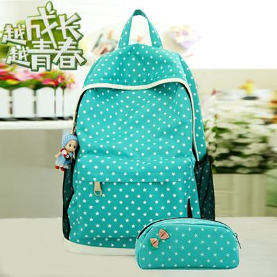 bagpack kpop fashion brand candy color nylon cute printing