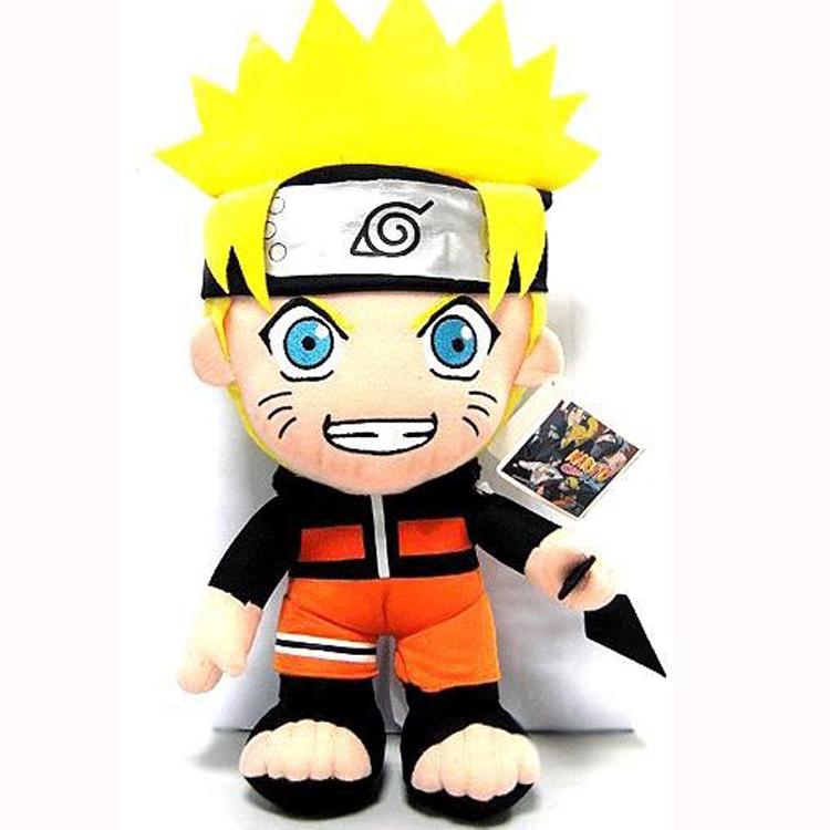 30cm Japanese Anime Naruto Plush Toy Kawaii Uzumaki Naruto Plush Dolls Soft Stuffed Toys Figure Toy for Kids Gifts Free Shipping(China (Mainland))
