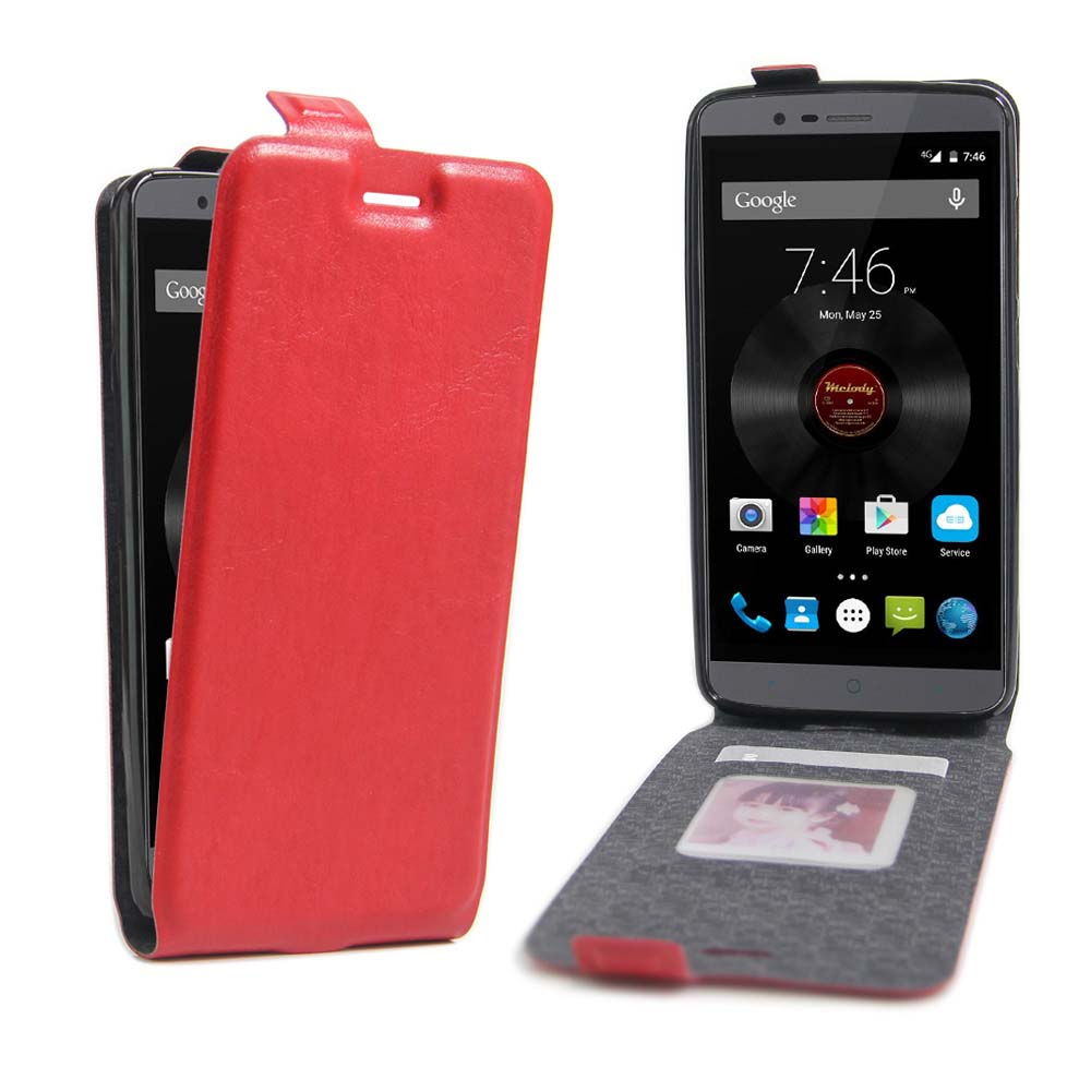New Leather Mobile phone Case Elephone P8000 5.5'' Luxury Vertical Flip Phone Accessories Card Cover