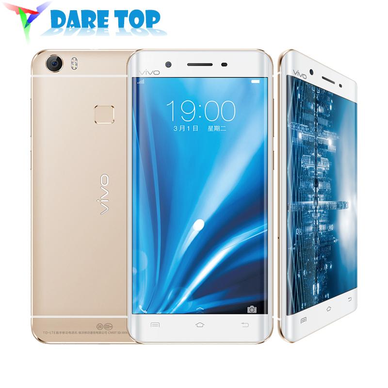 Original VIVO Xplay5 Xplay 5 Mobile Phone Full Metal Curved Edge 5.5 inch 2K 128GB ROM Haste Fingerprint HIFI Worldwide Network(China (Mainland))