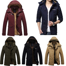 Jeansian Hot Sale New Designed Men's New Autumn And Winter Fashion Leisure Coat 5 Colors 5 Sizes MCE016(China (Mainland))