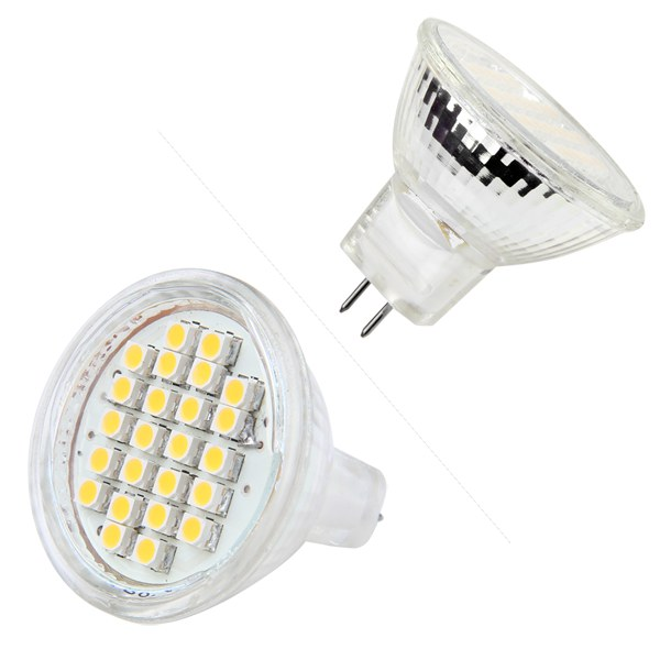 mr11 gu4 24 led spotlight warm white white 3528 smd spot. Black Bedroom Furniture Sets. Home Design Ideas