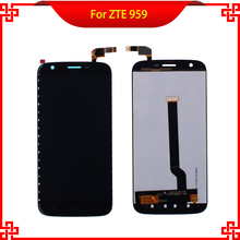 100% Tested LCD Display Touch Screen For ZTE Grand X 3 Z959 959 High Quality Mobile Phone LCDs Free Shipping