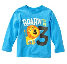 boy's t shirt long sleeve tshirt children's clothes cotton t-shirts kids tee tops girl sweatshirt jersey M1703 - Best Baby Kids Items r store