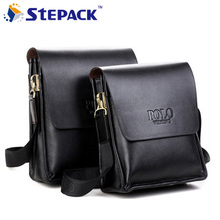Buy 2016 Famous Brand High PU Leather Designer Men Messenger Bags Fashion Casual Men Business Crossbody Bags Briefcase M001 for $13.25 in AliExpress store