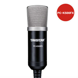 TAKSTAR PC-K500FX 3D Reverberation Professional Condenser Microphones Computer Recording Boutique Hot(China (Mainland))