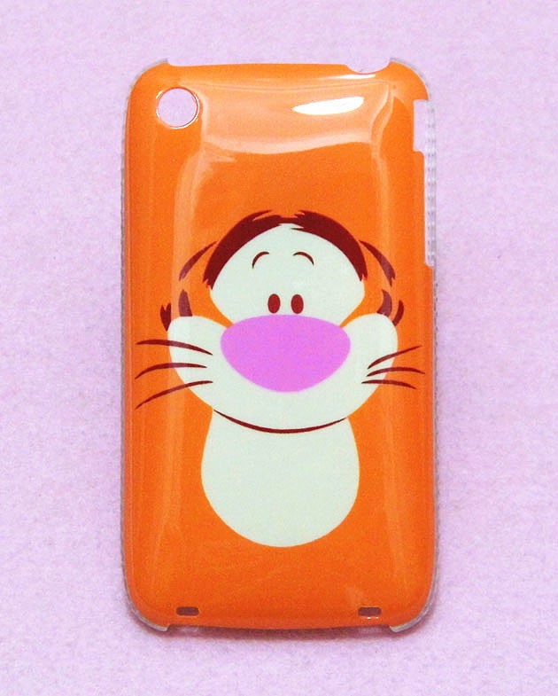 New Cool Cute Cartoon Tiger Stylish Pattern Hard Back Cover Case Skin For Apple iphone 3G 3GS Free Shipping(China (Mainland))