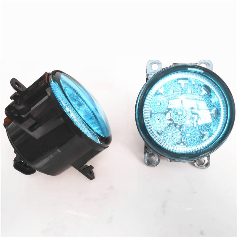 Car Styling Led Fog Lights Lamps For FORD FOCUS MK3 Turnier Estate 2011-2015 Modified Crystal Blue Blue 12V(China (Mainland))