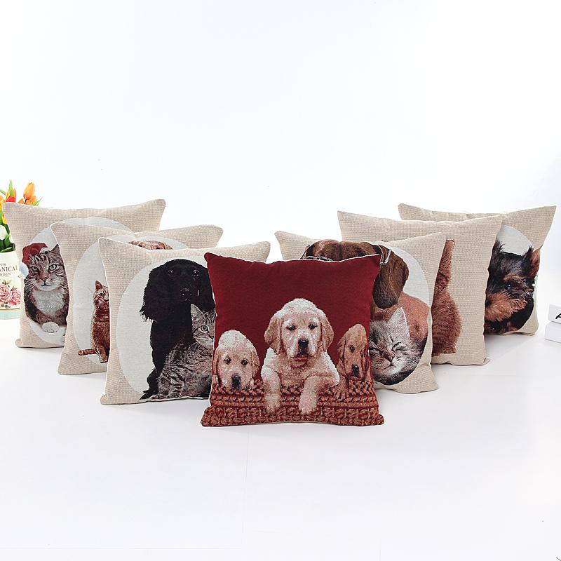 Comprar b101 vintage coj n sof almohadas para perros cojines decoraci n para el - Fundas cojines ikea ...