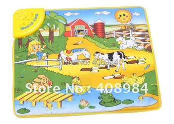 multi-function game music carpet, removable and washable music cloth piano electric Children  toys