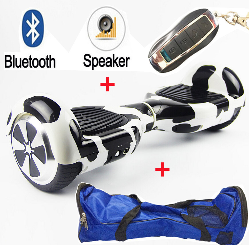 Tax 2 wheel smart Electric scooter Bluetooth remote bag self balance Electric Skateboard Standing Drift electric hoverboard