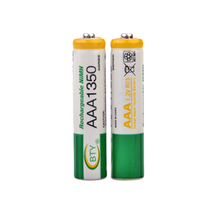4 Pieces 1.2V AAA Rechargeable Battery NI-MH Battery, For Children's Toy Remote Control And More 1350MAH
