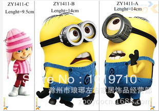 Здесь можно купить  1411Despicable Me / small yellow super dads who switch stickers / notebook stickers convenient wall-stickers100pcs/lost  Дом и Сад