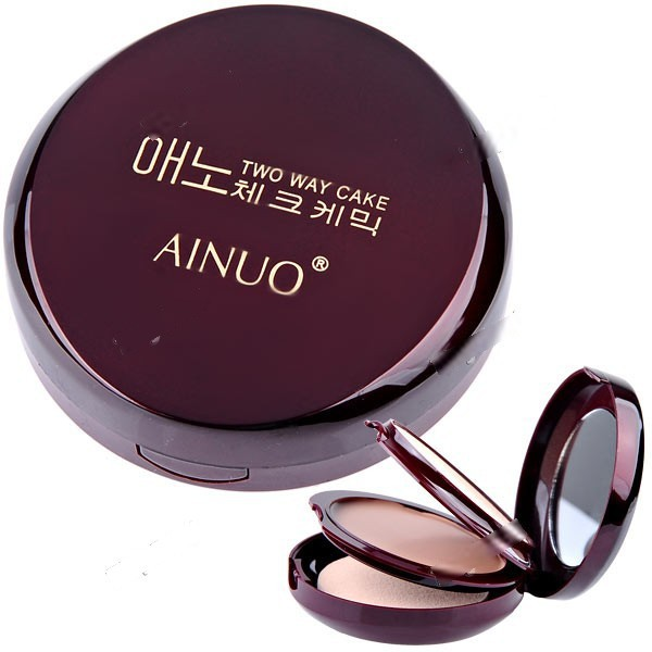 EasyLife Gorgeous Clear Invisible Dry + Wet Foundation Compact Powder Essential Cosmetics for Lady Women HCI-145884(China (Mainland))