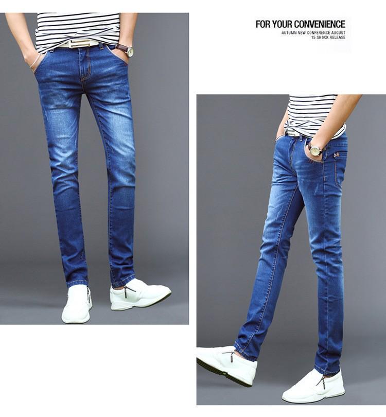 Скидки на 2016 новые зимние плюс толстый бархат джинсы мужские ноги теплые