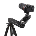 Travel Portable 4 distance 24cm to 70cm mini camera slider adjustable DSLR video dolly track rail