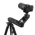 Travel Portable 4 distance 24cm to 70cm mini camera slider adjustable DSLR video dolly track rail