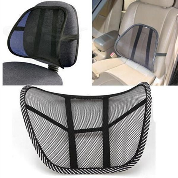 Lumbar Back Brace Support Pillow Office Home Car Seat Chair Cushion