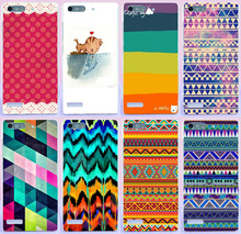 2015 new phone case for Huawei Ascenf P6 colorful cool pattern cover case DIY skin shell
