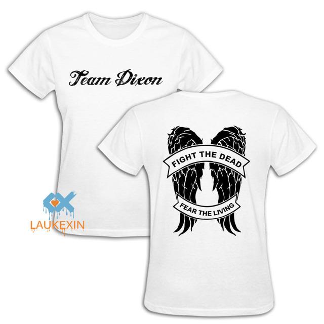 The Walking Dead Daryl T-Shirt – Team Dixon Angel Wings Tee