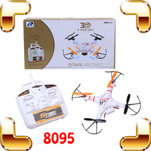 New Year Gift 8095 2.4G 4CH Rc Mini Quadcopter 6 Axis RC Helicopter Can Carry Camera Remote Control Aircraft RTF RC Electric