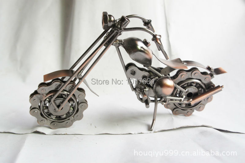 Creative gifts, business gifts , buy gifts , nostalgia bronze metal motorcycle M25A(China (Mainland))
