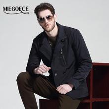 MIEGOFCE 2016 Одежда для мужчин открытый теплое пальто весна осень Высокое качество Куртки пальто Тёплое бельё Бренды для мужчин мужские верхняя одежда пальто (China (Mainland))