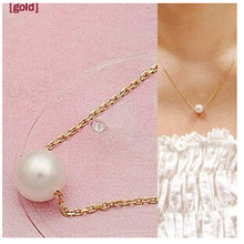 NK134 Fashion Hot 2014 New Short Simple Pearl Modern Temperament Pendants Necklaces For Women Jewelry
