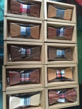 2016 fashion creative wood tie Fun move men leisure wooden bow ties bowtie butterflies(China (Mainland))