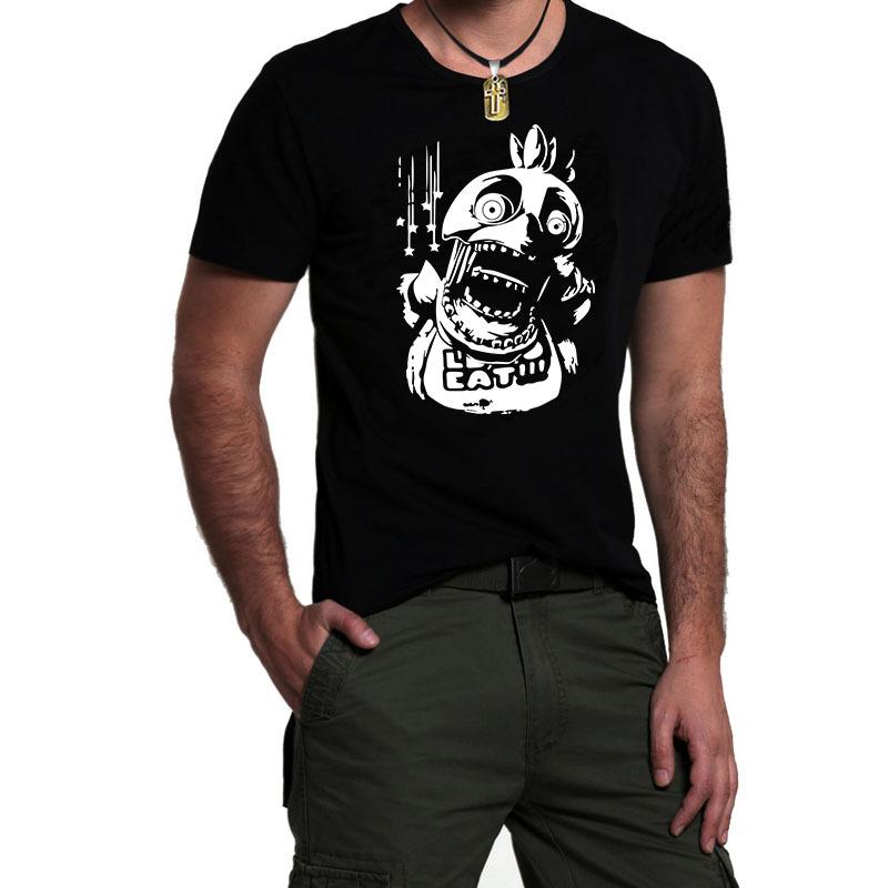 Five nights at freddy horror men t shirt s cute cartoon t shirts