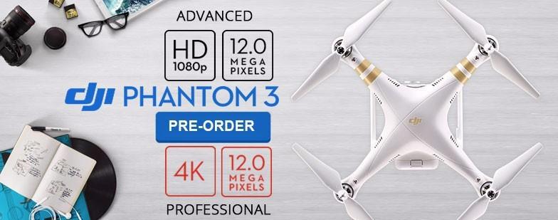 DJI Phantom 3 Advanced Quadcopter Drone With 1080P HD Camera GPS RC Quadcopter RTF In stock
