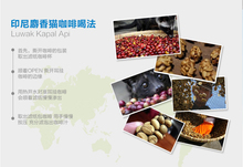 New Arrive Indonesia drip coffee kapal Api Brand Original green food Kopi Luwak coffee beans powder