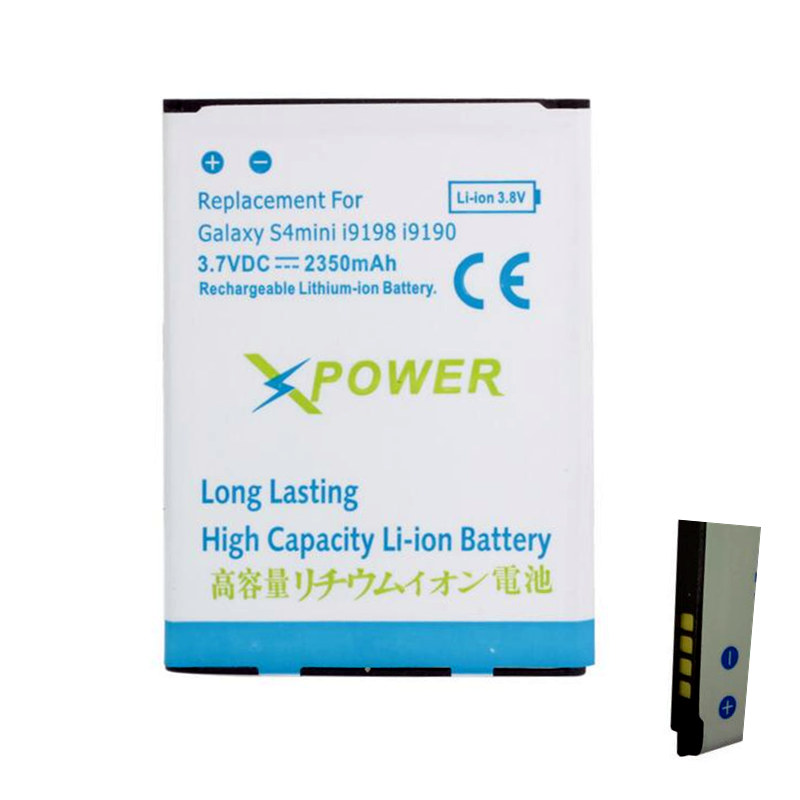 High Quality High Capacity 2350mAh Battery Bateria For Samsung Galaxy s4 mini i9190 S4mini(China (Mainland))