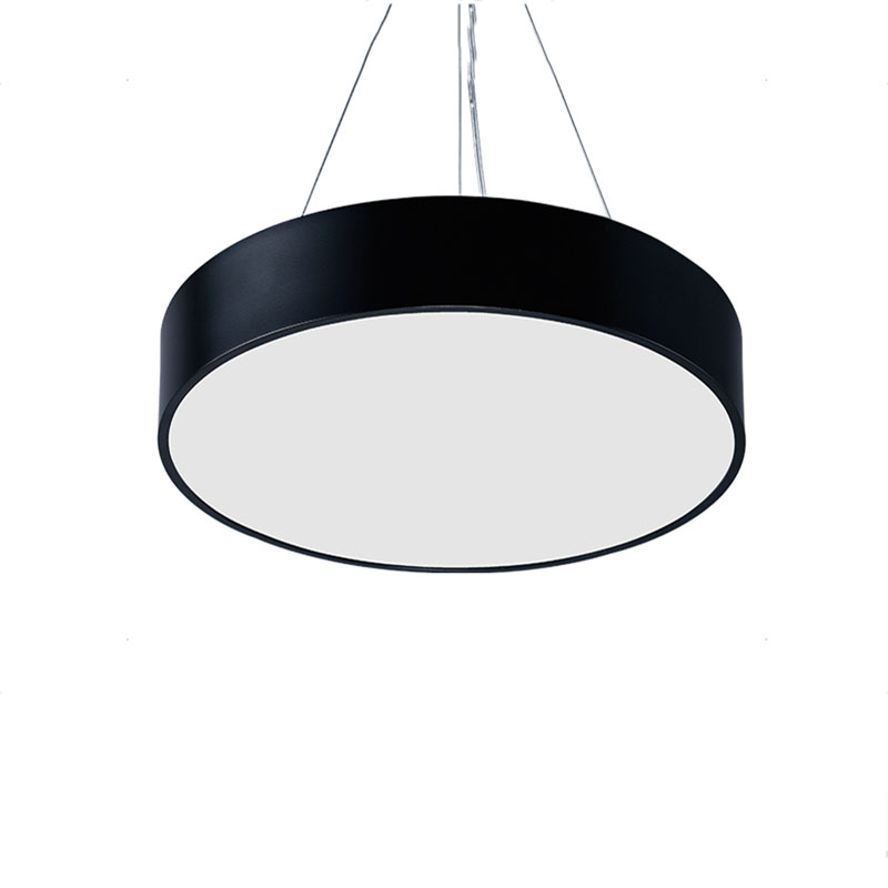 Modern Black LED Pendant Light Fixture for Dining Room Lustre Suspension Hanging Light Fitting 100% Guarantee Fast Shipping 36w nail dryer sun8se uv led nail lamp sunlight nail gel dryer lcd display curing gel polish manicure drying lamp nail art tool