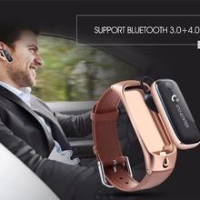 Nueva Calidad Superior M6 Inteligente Reloj de Pulsera Deportes Pulsera Smartband/Auricular Bluetooth para IOS Android O25