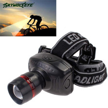 3W CREE LED Headlamp Flashlight Frontal Lantern Durable Zoomable Head Torch Light Bike Riding Lamp For Camping Hunting APJW(China (Mainland))