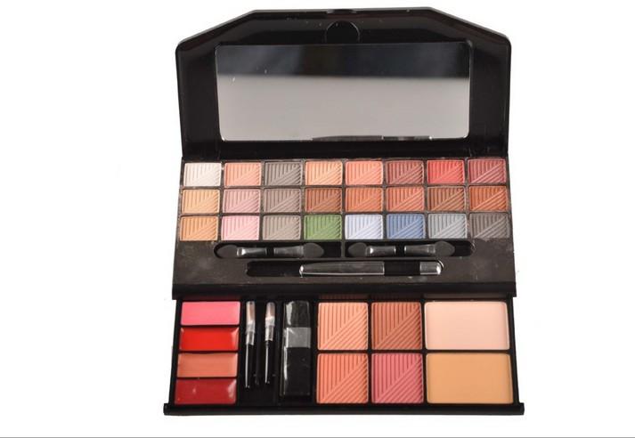 W913A  24 Colors Eye Shadow 4 Blusher 2 Pressed Powder 4 Lip Brillant 1Eyeliner Eye Shadow Box  Fine Powder  Easy To Apply<br><br>Aliexpress