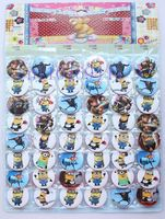 Wholesale - 10 sheets 480 pcs new Despicable Me   Badge Button Pin 4.5CM party favor  Free Shipping