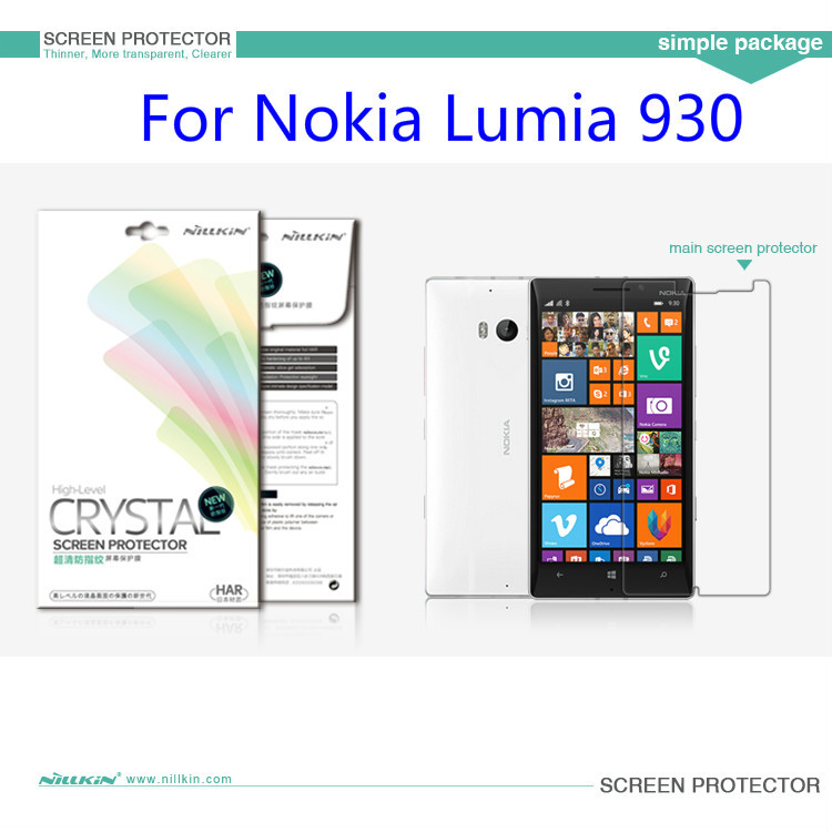 1 NILLKIN Screen Protector Film Lot ! Matte OR Super Clear HD Anti-Fingerprint Protective Nokia Lumia 930 - Foison Group1 Store store
