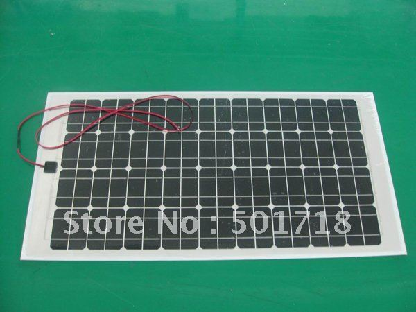 80W/18V Monocrystalline Flexible Solar Panel