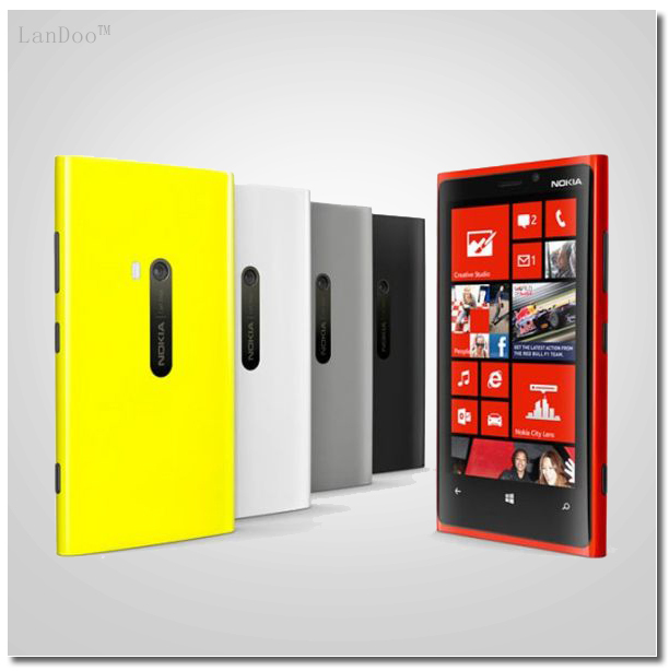 "Original Nokia Lumia 920 Cellphone 4.5"" 32GB Dual Core 1.5GHz 8.7MP 1080P Windows OS 8.0 GPS NFC 3G Unlocked Phone Refurbished(China (Mainland))"