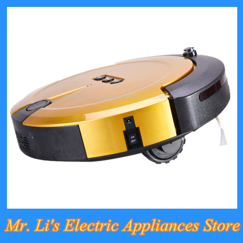 Latest Mini Robot Vacuum Cleaner Hand Held Sweep Suction Cleaning Machine with Multifunctional Combined Brush for House(China (Mainland))