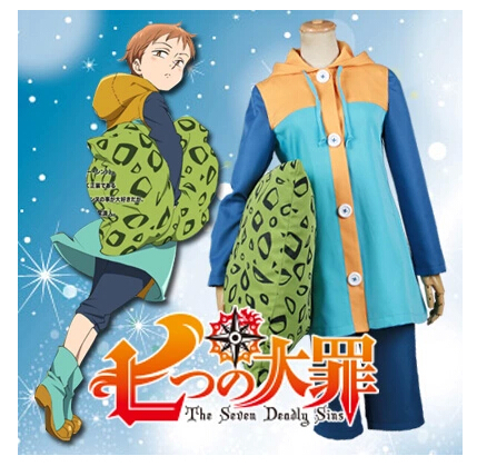 Free Shipping! The Seven Deadly Sins Grizzlys Sin of Sloth King Cosplay Costume ,Perfect customized for you!Одежда и ак�е��уары<br><br><br>Aliexpress