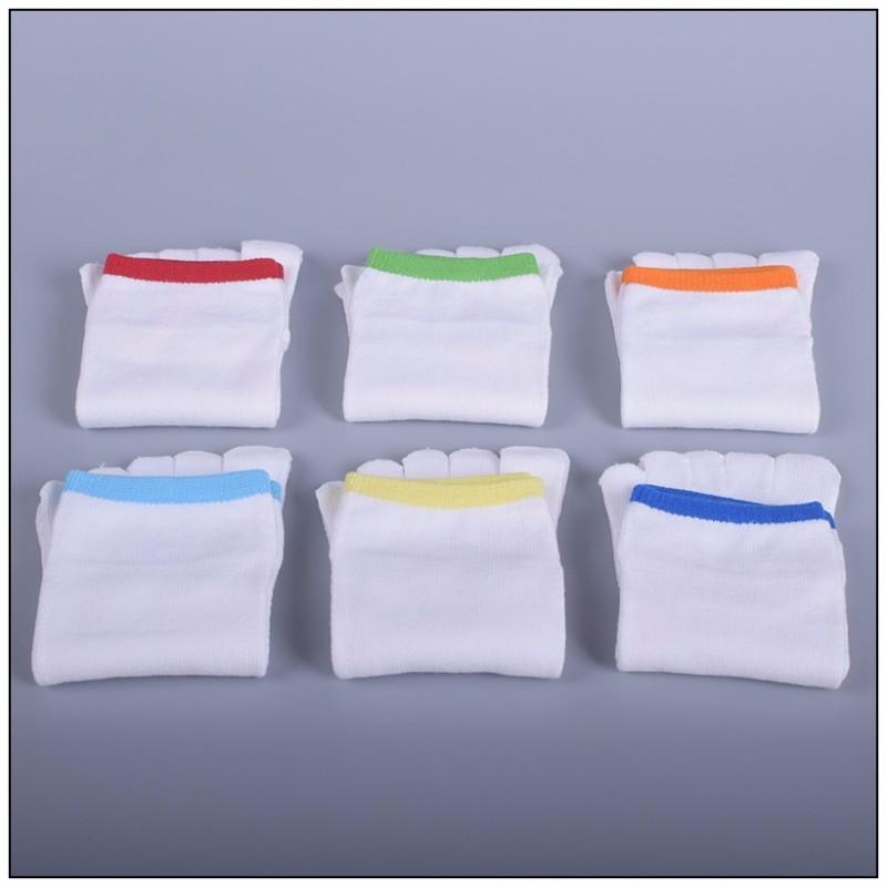 New 2017 Solid Color Five Fingers Men Socks Fashion Short Tube Boat Socks Toe Man Casual Male Socks 4pcs=2pairs/lot