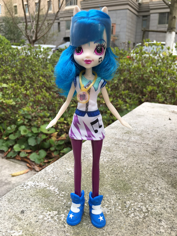 "Original Equestria Girls 9"" Dolls DJ PON-3 Action Figures New Loose"