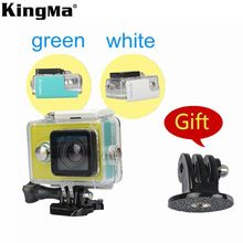 KingMa Original Xiaomi Yi Camera Waterproof Case, Mi Yi 60M Diving Sports Waterproof Box, Yi Action Camera Accessories Aksesoris(China (Mainland))