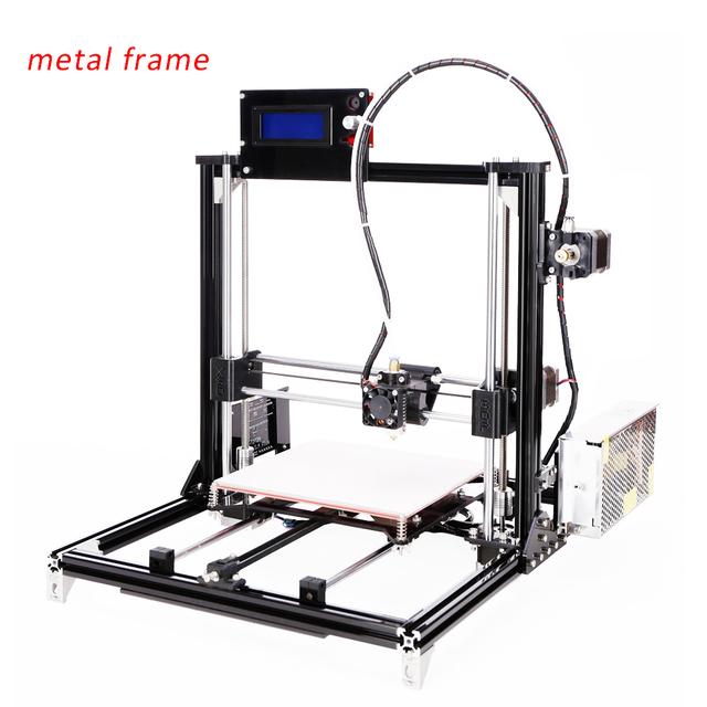 2016 Новая Алюминиевая Структура flsun3d 3D DIY Принтер Prusa i3 3d-принтер Комплект Подогревом Кровать 1 кг Нити 8 ГБ SD Карты